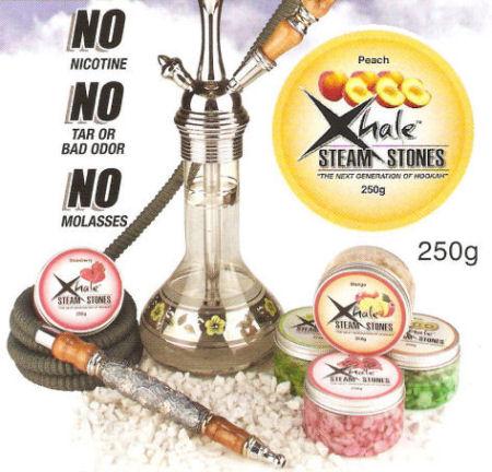 Xhale Steam Stones – Peach