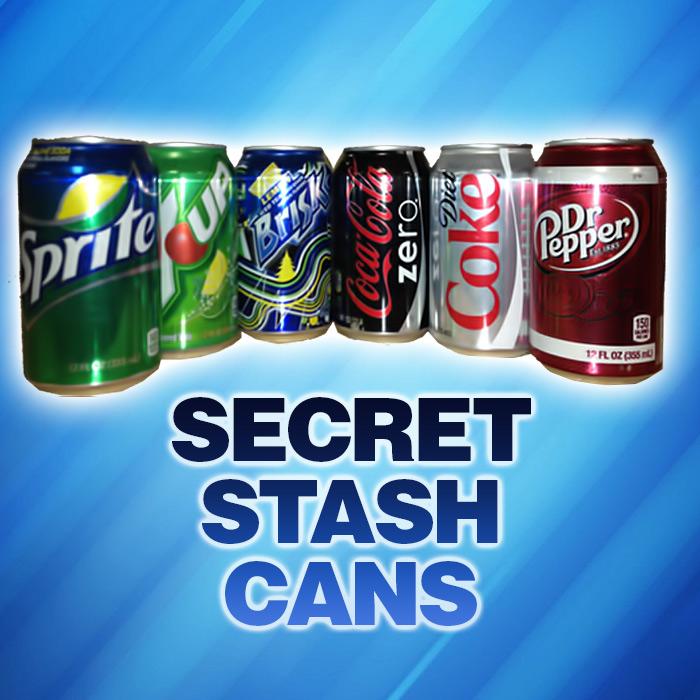 Giggles Secret Stash Cans